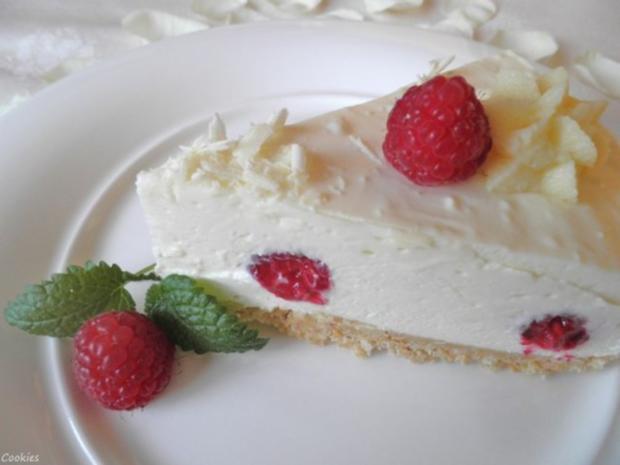 White Chocolat Cheesecake ... with Raspberries ... - Rezept - Bild Nr. 2