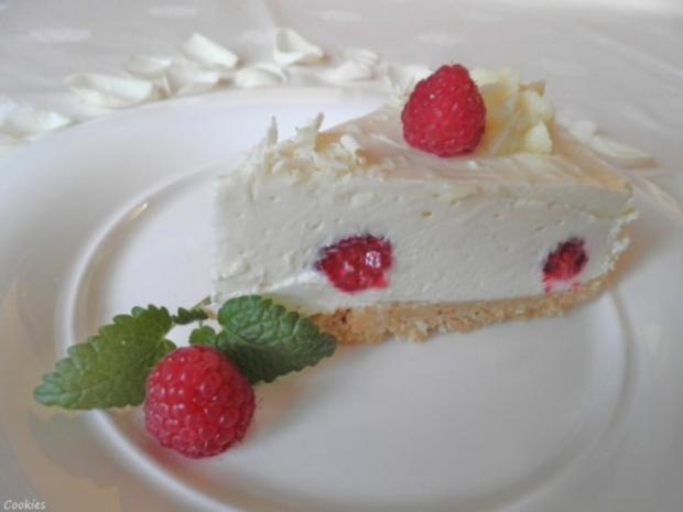 White Chocolat Cheesecake ... with Raspberries ... - Rezept - Bild Nr. 3