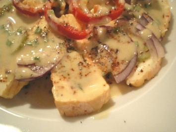 Rezept: Romadur Käse sauer und scharf mariniert