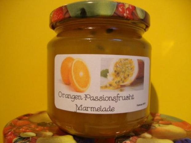 Orangen-Passionsfrucht Gelee - Rezept - Bild Nr. 5