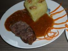 Rinderschmorbraten mit Weißkraut - Kartoffelstampf . - Rezept - Bild Nr. 5