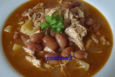 Kochen: Wachtelbohnen-Hühner-Eintopf - Rezept