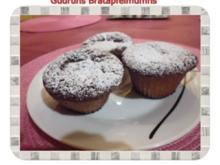 Muffins: Bratapfelmuffins - Rezept