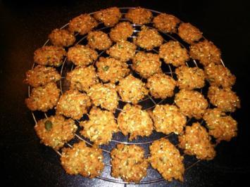 Rezept: Vollkorn-Käse-Kräcker 2