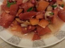 Granatapfel-Tomatensalat - Rezept
