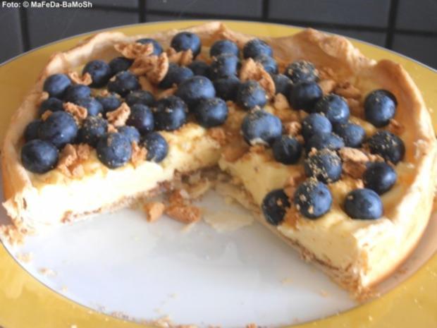 Heidelbeer Pudding Kuchen Rezept Mit Bild Kochbar De