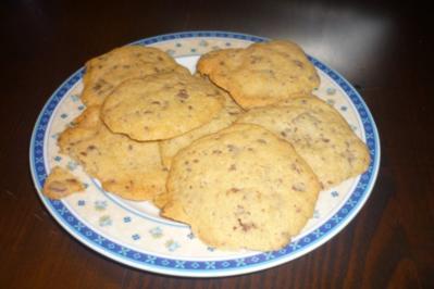 Schoko -Cookies - Rezept