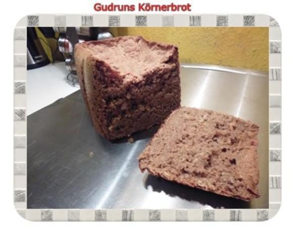 Brot: Körnerbrot - Rezept