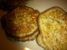 Bananen-Mandel-Pancakes - Rezept