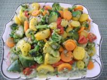 Gedünste Gemüse - Pfanne - Rezept