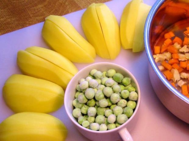 Bunter Faschings-Salat - Rezept - Bild Nr. 2