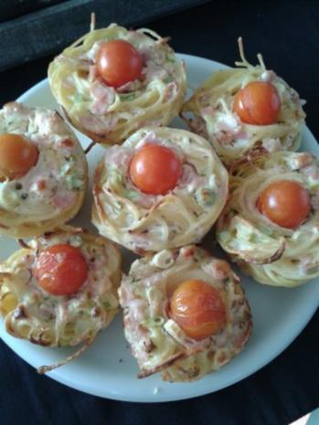 Spaghetti-Muffins - Rezept - Bild Nr. 2