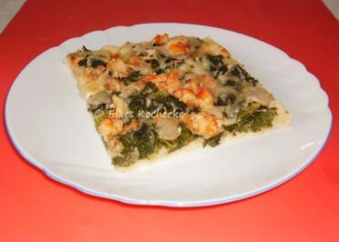 Grünkohlpizza - Rezept