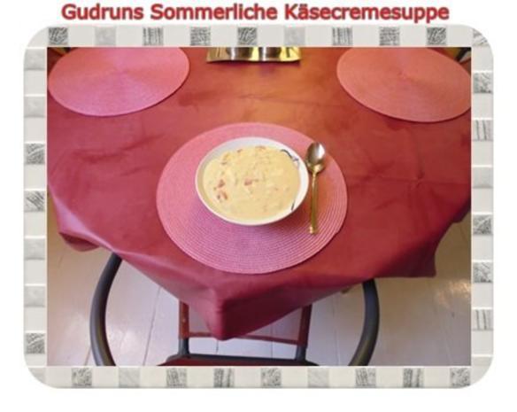 Suppe: Käsecremesuppe - Rezept - Bild Nr. 11