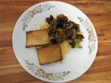 Tofu-Gemüse-Pfanne mit Couscous - Rezept
