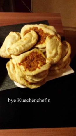 Lahmacun (Türkische Pizzen) - Rezept - Bild Nr. 3