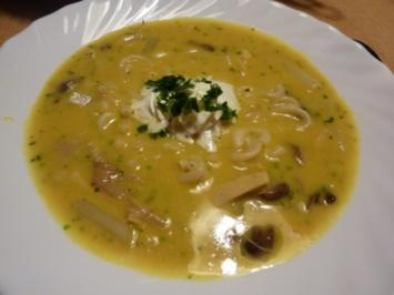 Rezept: Suppen: Hühnersuppe mal anders