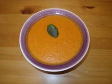 Tomaten-Zucchini-Creme-Süppchen - Rezept