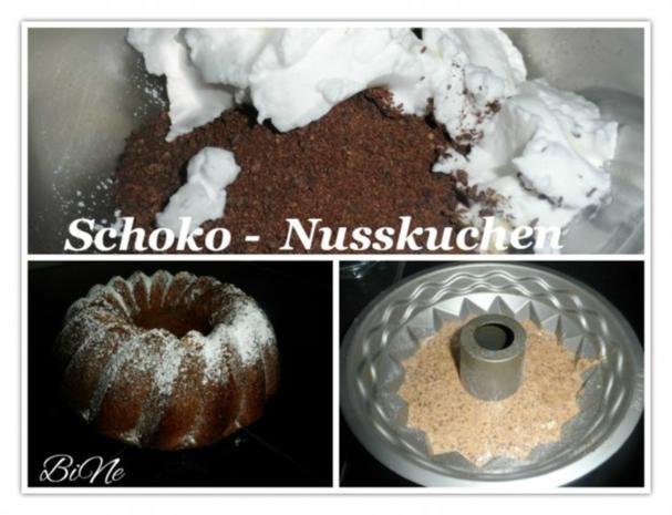 BiNe` S SCHOKO - NUSSKUCHEN - Rezept