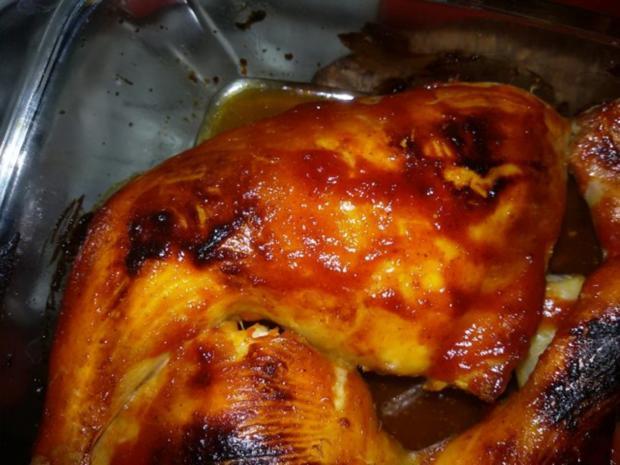Texanische Hähnchenschenkel - Rezept