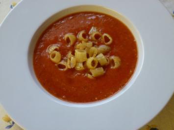 Tomatige Hacksuppe - Rezept