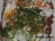 Abend : Vollkorn-Sonnen-Blumen Brot - Rezept
