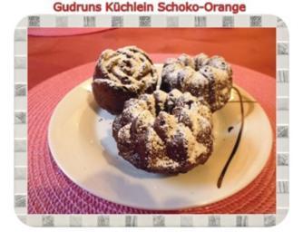 Muffins: Küchlein Schoko-Orange - Rezept