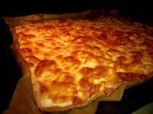 2-Käse-Flammkuchen - Rezept