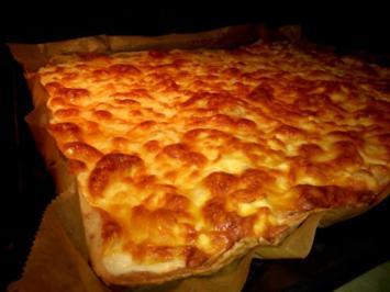 Rezept: 2-Käse-Flammkuchen