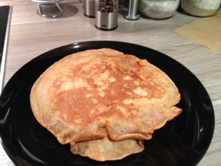 Apfel-Pfannkuchen - Rezept