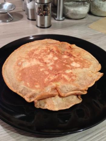 Apfel-Pfannkuchen - Rezept - Bild Nr. 2