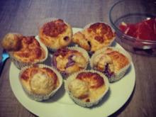 Eiweiß -Vanille-Muffins mit Beeren - Rezept