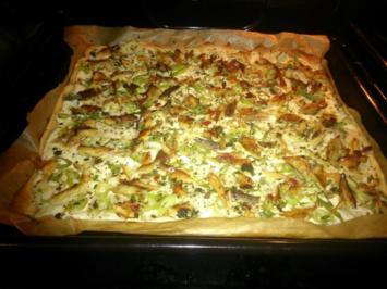 Makrelen-Flammkuchen - Rezept