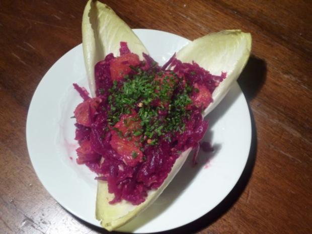 Rote Bete Salat mit Orangen - Rezept