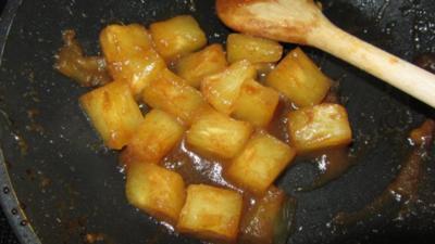 Karamellisierte Ananas - Rezept