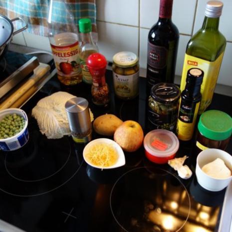 WOKgericht unasiatisch - Rezept
