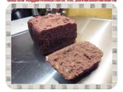 Brot: Roggenvollkornbrot mit Sonnenblumenkerne - Rezept