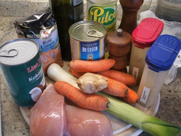 Suppen: Indische Linsensuppe - Rezept - Bild Nr. 2