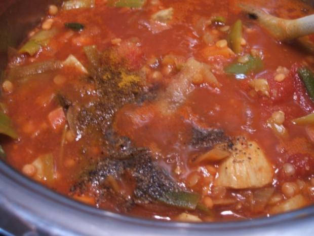 Suppen: Indische Linsensuppe - Rezept - Bild Nr. 9