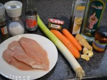 Chop Suey mit Dak Gui Fleisch - Rezept
