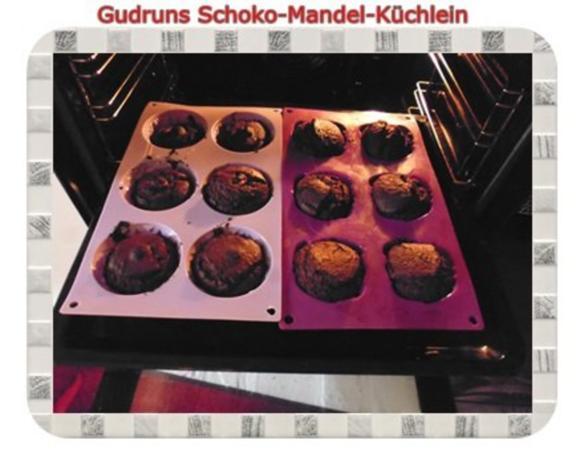 Muffins: Schoko-Mandel-Küchlein - Rezept - Bild Nr. 11