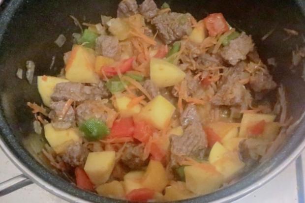Kochen: Gulasch-Suppe - Rezept - Bild Nr. 3