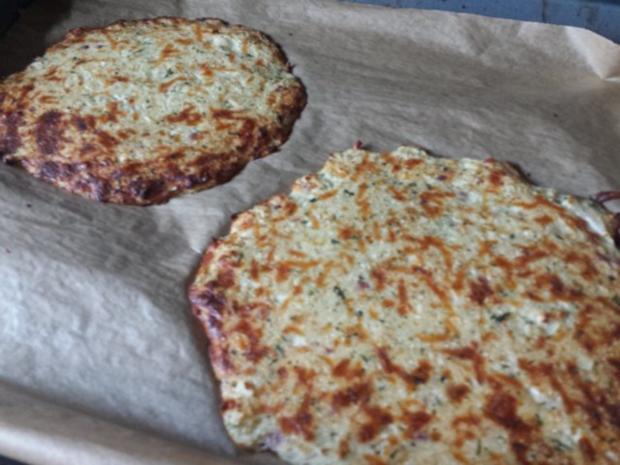 Pizza mit Blumenkohl-Boden - Rezept - Bild Nr. 7