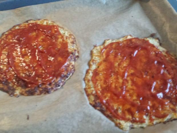 Pizza mit Blumenkohl-Boden - Rezept - Bild Nr. 10