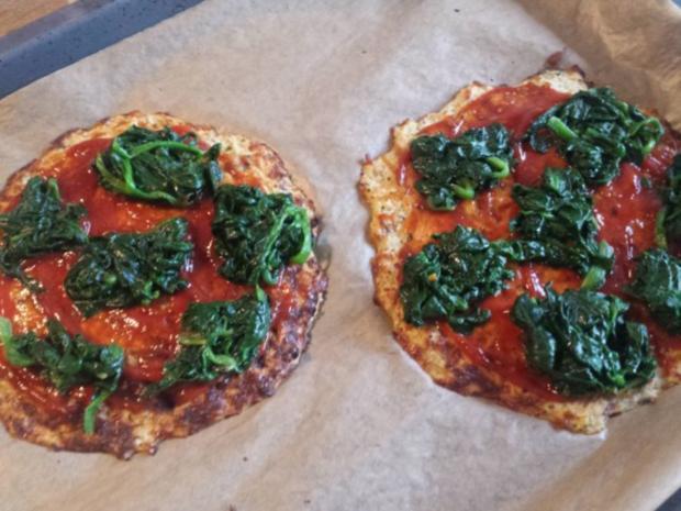 Pizza mit Blumenkohl-Boden - Rezept - Bild Nr. 11