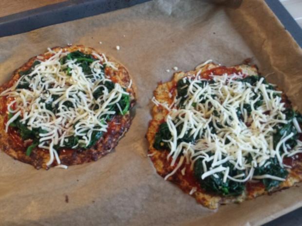 Pizza mit Blumenkohl-Boden - Rezept - Bild Nr. 12
