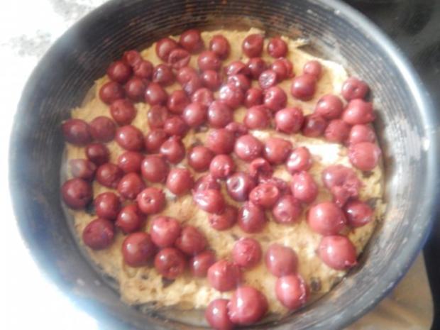 Kuchen - Nuss-Schoko-Kirsch-Kuchen - Rezept - Bild Nr. 3