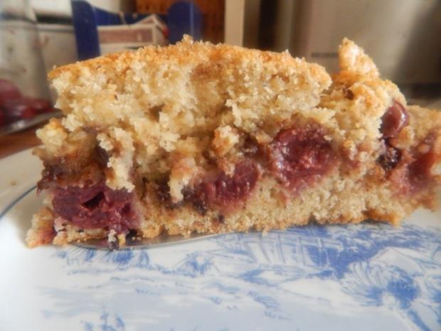 Kuchen - Nuss-Schoko-Kirsch-Kuchen - Rezept - Bild Nr. 6