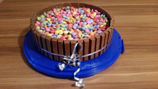 Kit Kat Smartis Schoko Torte Rezept Mit Bild Kochbar De