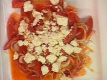 Türkischer Tomatensalat - Rezept